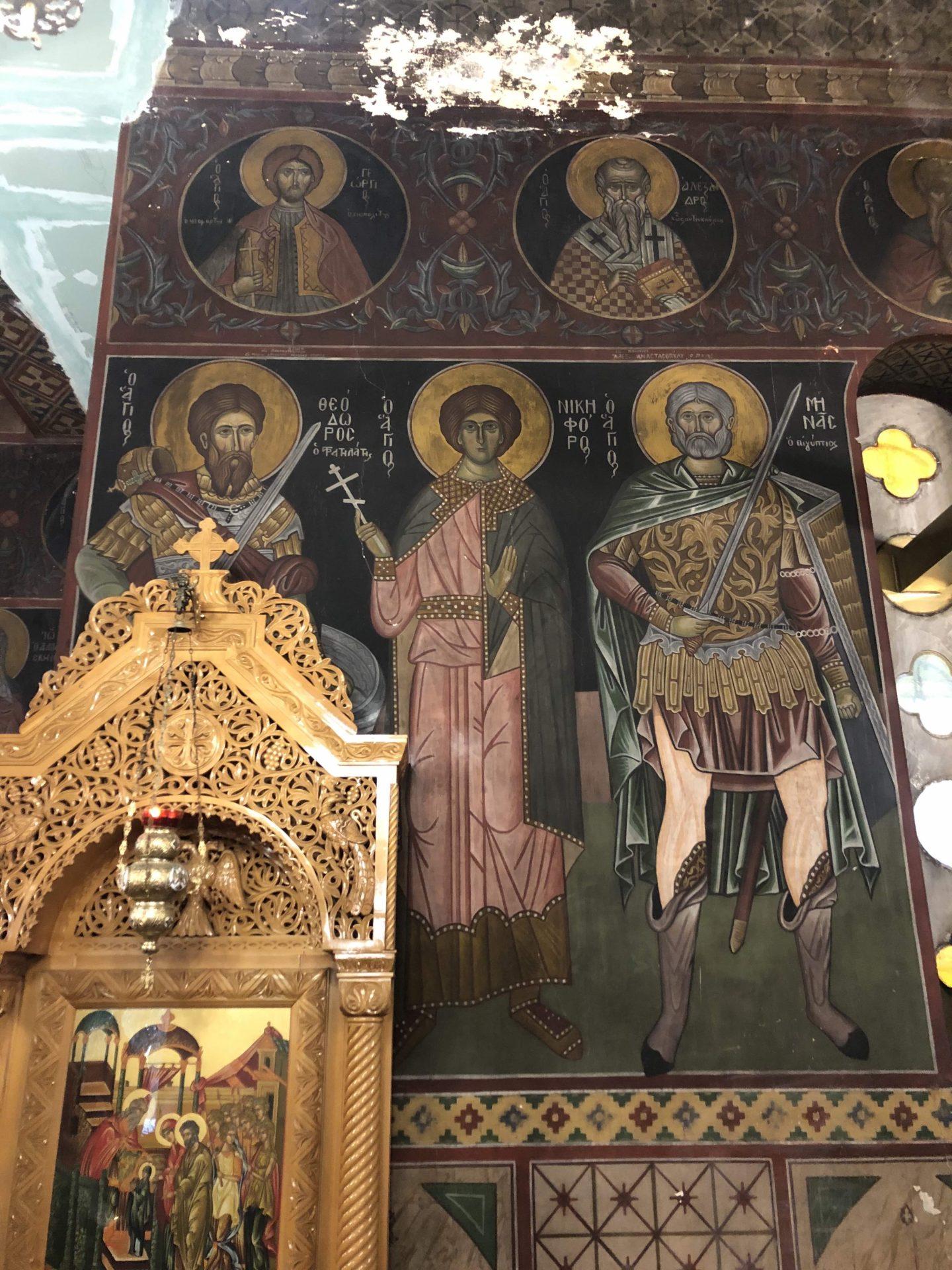 Αποκαθίσταται ο ναός του Αγ. Χαραλάμπους Πεδίου του Αρεως που έχει αγιογραφηθεί από τον Φώτη Κόντογλου   Enetpress